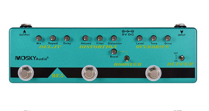 BE5 Multi-Effects Pedal 五合一效果器