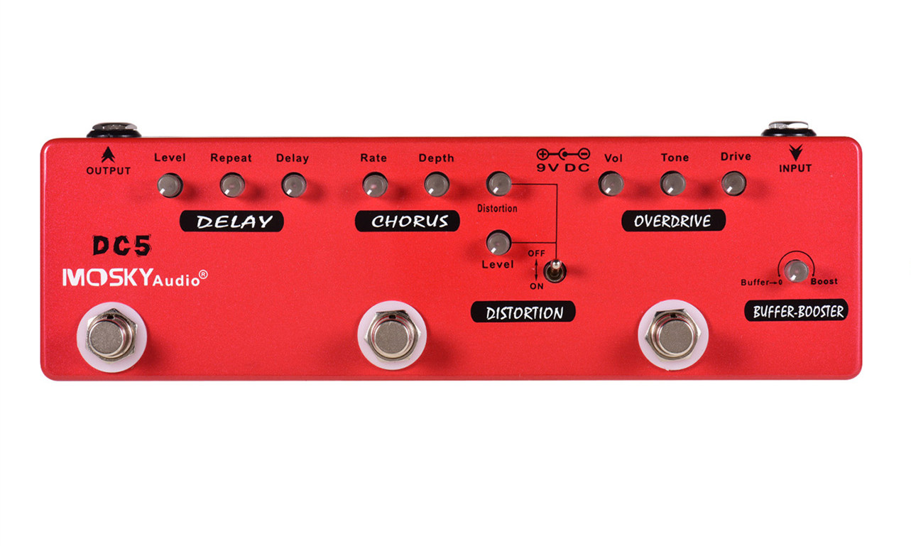 DC5 Multi-Effects Pedal 五合一效果器